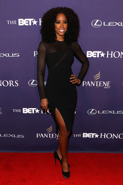 Kelly Rowland red carpet BET Honors 2013