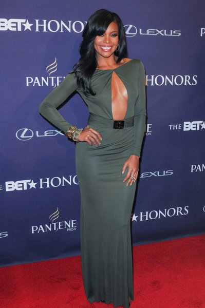 Gabrille Union red carpet BET Honors 2013