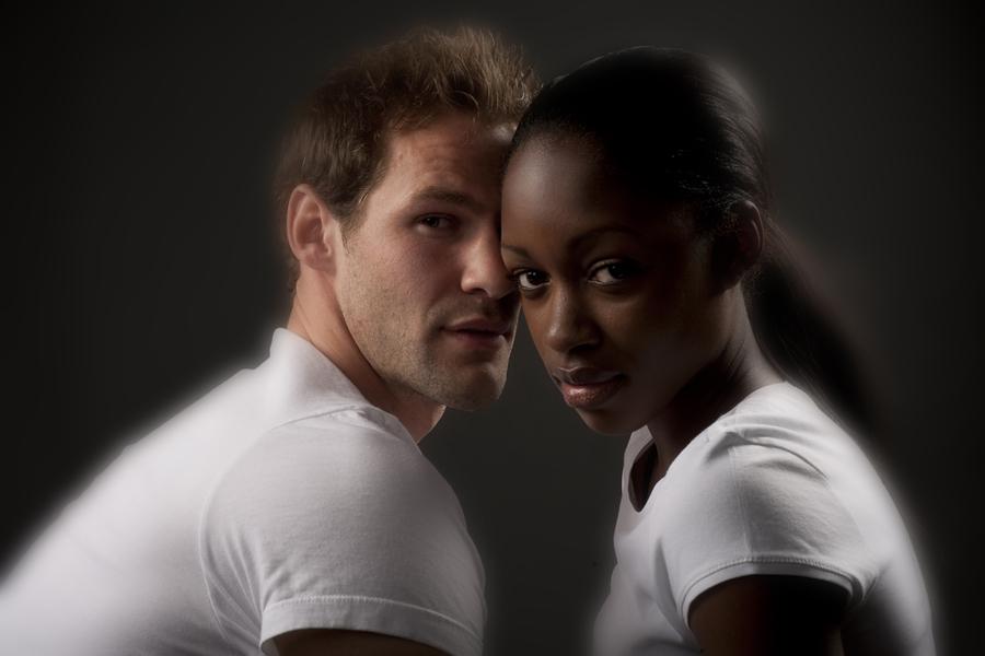 black girl white guy interracial dating
